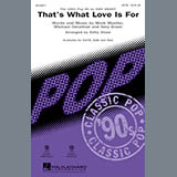 Download or print Kirby Shaw That's What Love Is For Sheet Music Printable PDF -page score for Pop / arranged SAB SKU: 171996.