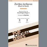 Download or print Kirby Shaw Zombie Jamboree (Back To Back) Sheet Music Printable PDF -page score for Folk / arranged TBB SKU: 188636.