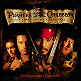 Download or print Klaus Badelt He's A Pirate (from Pirates Of The Caribbean: The Curse Of The Black Pearl) Sheet Music Printable PDF -page score for Film and TV / arranged Piano SKU: 25202.