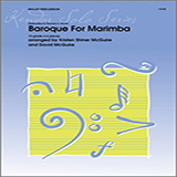 Download or print Kristen Shiner McGuire & David McGuire Baroque For Marimba Sheet Music Printable PDF -page score for Unclassified / arranged Percussion SKU: 125046.