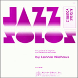 Download or print Lennie Niehaus Jazz Solos For Alto Sax, Volume 2 Sheet Music Printable PDF -page score for Unclassified / arranged Woodwind Solo SKU: 124911.