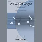 Download or print Mac Huff We've Got Tonight Sheet Music Printable PDF -page score for Rock / arranged TBB SKU: 189847.