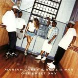 Download or print Mariah Carey and Boyz II Men One Sweet Day Sheet Music Printable PDF -page score for Pop / arranged Piano, Vocal & Guitar (Right-Hand Melody) SKU: 16293.