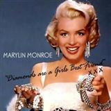Download or print Marilyn Monroe Diamonds Are A Girl's Best Friend Sheet Music Printable PDF -page score for Film and TV / arranged Beginner Piano SKU: 24260.
