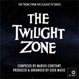 Download or print Marius Constant Twilight Zone Main Title Sheet Music Printable PDF -page score for Film and TV / arranged Piano SKU: 93064.