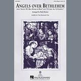 Download or print Mark Brymer Angels Over Bethlehem Sheet Music Printable PDF -page score for Concert / arranged 3-Part Mixed SKU: 97972.
