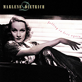 Download or print Marlene Dietrich Falling In Love Again (Can't Help It) Sheet Music Printable PDF -page score for Ballad / arranged Guitar SKU: 118782.