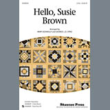 Download or print Traditional Folksong Hello, Susie Brown (arr. Mary Donnelly) Sheet Music Printable PDF -page score for Concert / arranged 3-Part Mixed SKU: 98156.