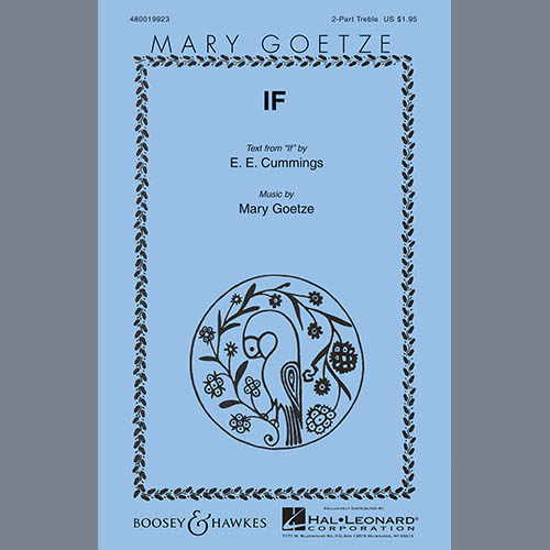 Easily Download Mary Goetze Printable PDF piano music notes, guitar tabs for  2-Part Choir. Transpose or transcribe this score in no time - Learn how to play song progression.