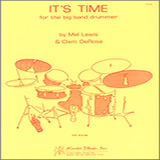 Download or print Mel Lewis It's Time For The Big Band Drummer Sheet Music Printable PDF -page score for Unclassified / arranged Instrumental Method SKU: 124971.