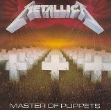 Download or print Metallica Master Of Puppets Sheet Music Printable PDF -page score for Rock / arranged Drums SKU: 113549.