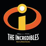 Download or print Michael Giacchino Mr. Huph Will See You Now (from The Incredibles) Sheet Music Printable PDF -page score for Film and TV / arranged Piano SKU: 30879.