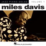 Download or print Miles Davis Somethin' Else Sheet Music Printable PDF -page score for Jazz / arranged Piano SKU: 24833.