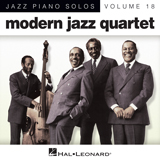 Download or print Modern Jazz Quartet A Social Call Sheet Music Printable PDF -page score for Jazz / arranged Piano SKU: 88326.