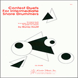 Download or print Murray Houllif Contest Duets For The Intermediate Snare Drummers Sheet Music Printable PDF -page score for Unclassified / arranged Percussion Ensemble SKU: 124893.