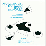Download or print Murray Houllif Contest Duets For Young Snare Drummers Sheet Music Printable PDF -page score for Unclassified / arranged Percussion Ensemble SKU: 124880.