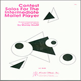 Download or print Murray Houllif Contest Solos For The Intermediate Mallet Player Sheet Music Printable PDF -page score for Unclassified / arranged Percussion SKU: 125088.