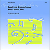 Download or print Murray Houllif Festival Repertoire For Drum Set Sheet Music Printable PDF -page score for Unclassified / arranged Percussion SKU: 124878.