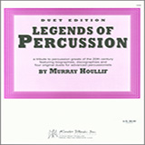 Download or print Murray Houllif Legends Of Percussion, Duet Edition Sheet Music Printable PDF -page score for Unclassified / arranged Percussion Ensemble SKU: 124965.