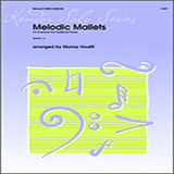 Download or print Murray Houllif Melodic Mallets (10 Classical And Traditional Tunes) Sheet Music Printable PDF -page score for Unclassified / arranged Percussion SKU: 125011.