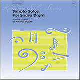 Download or print Murray Houllif Simple Solos For Snare Drum Sheet Music Printable PDF -page score for Unclassified / arranged Percussion SKU: 124905.