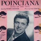 Download or print Nat Simon Poinciana Sheet Music Printable PDF -page score for Jazz / arranged Piano SKU: 124549.
