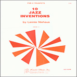 Download or print Niehaus 10 Jazz Inventions Sheet Music Printable PDF -page score for Unclassified / arranged Brass Ensemble SKU: 124835.