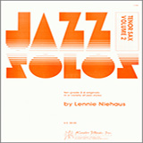 Download or print Niehaus Jazz Solos For Tenor Sax, Volume 2 Sheet Music Printable PDF -page score for Unclassified / arranged Woodwind Solo SKU: 124772.