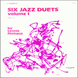 Download or print Niehaus Six Jazz Duets, Volume 1 Sheet Music Printable PDF -page score for Unclassified / arranged Brass Ensemble SKU: 124832.