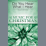 Download or print Robert Sterling Do You Hear What I Hear Sheet Music Printable PDF -page score for Religious / arranged Choral SKU: 159774.