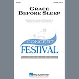 Download or print Patti Drennan Grace Before Sleep Sheet Music Printable PDF -page score for Festival / arranged Choral SSATB SKU: 159856.
