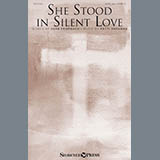 Download or print Herb Frombach She Stood In Silent Love Sheet Music Printable PDF -page score for Sacred / arranged Choral SKU: 176074.