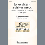 Download or print Peter Robb Et Exsultavit Spiritus Meus Sheet Music Printable PDF -page score for Sacred / arranged Unison Choral SKU: 197941.