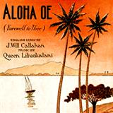 Download or print Queen Liliuokalani Aloha Oe Sheet Music Printable PDF -page score for Pop / arranged Ukulele Ensemble SKU: 177917.