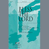Download or print Richard Kingsmore Bless The Lord Sheet Music Printable PDF -page score for Sacred / arranged SATB SKU: 84685.