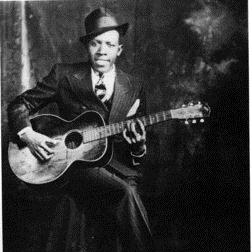 Download or print Robert Johnson Sweet Home Chicago Sheet Music Printable PDF -page score for Blues / arranged Piano SKU: 42249.