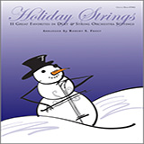 Download or print Robert S. Frost Holiday Strings - Full Score Sheet Music Printable PDF -page score for Unclassified / arranged String Ensemble SKU: 124924.