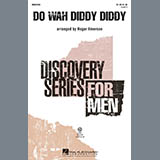 Download or print Roger Emerson Do Wah Diddy Diddy Sheet Music Printable PDF -page score for Concert / arranged TB SKU: 97524.