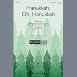 Download or print Roger Emerson Hanukkah, Oh, Hanukkah Sheet Music Printable PDF -page score for Chanukah / arranged 3-Part Mixed SKU: 195521.