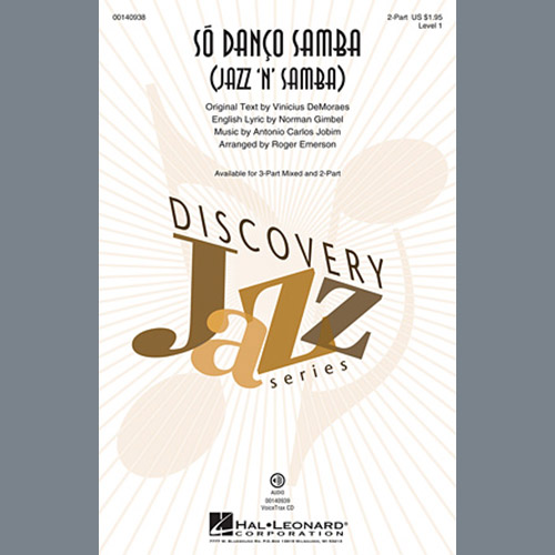Easily Download Antonio Carlos Jobim Printable PDF piano music notes, guitar tabs for  2-Part Choir. Transpose or transcribe this score in no time - Learn how to play song progression.