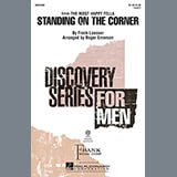 Download or print Roger Emerson Standing On The Corner Sheet Music Printable PDF -page score for Concert / arranged TB SKU: 97948.