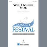 Download or print Roger Emerson We Honor You Sheet Music Printable PDF -page score for Concert / arranged SAB SKU: 170259.