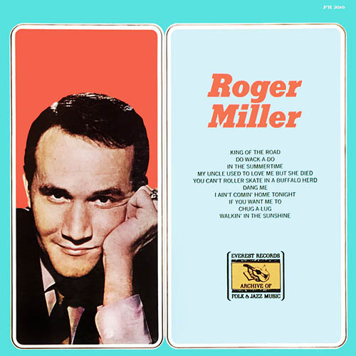 Easily Download Roger Miller Printable PDF piano music notes, guitar tabs for  Easy Guitar Tab. Transpose or transcribe this score in no time - Learn how to play song progression.