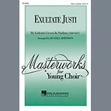Download or print Lodovico Grossi da Viadana Exultate Justi (arr. Russell Robinson) Sheet Music Printable PDF -page score for Concert / arranged 3-Part Mixed SKU: 97786.