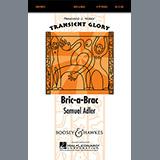 Download or print Samuel Adler Bric-A-Brac Sheet Music Printable PDF -page score for Festival / arranged 4-Part SKU: 71274.