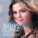 Download or print Selena Gomez & The Scene Who Says Sheet Music Printable PDF -page score for Pop / arranged Piano, Vocal & Guitar (Right-Hand Melody) SKU: 91635.