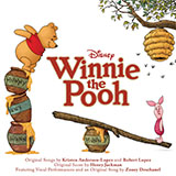 Download or print Sherman Brothers Winnie The Pooh Sheet Music Printable PDF -page score for Children / arranged Easy Piano SKU: 19243.