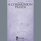 Download or print Simon Lole A Communion Prayer Sheet Music Printable PDF -page score for A Cappella / arranged SATB SKU: 177547.