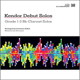 Download or print Sobol Kendor Debut Solos - Bb Clarinet - Piano Accompaniment Sheet Music Printable PDF -page score for Unclassified / arranged Woodwind Solo SKU: 124986.