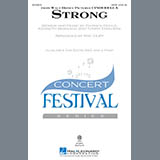Download or print Sonna Rele Strong (from Cinderella) (arr. Mac Huff) Sheet Music Printable PDF -page score for Children / arranged 2-Part Choir SKU: 161876.